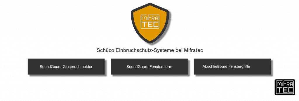 Der Schüco Einbruchschutz bei MIFRATEC im Überblick.