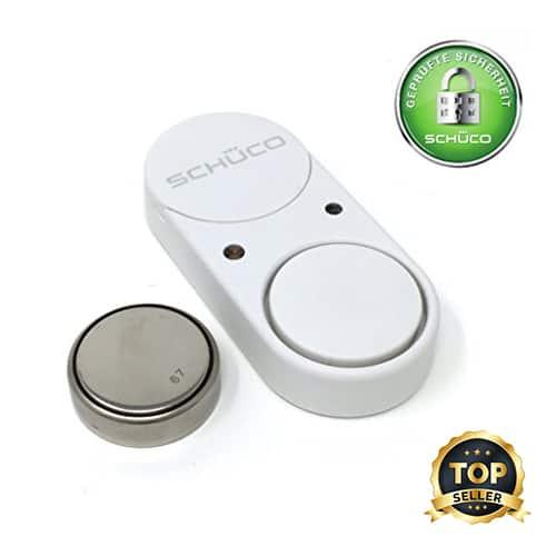 Glasbruchmelder – akustische & passive Alarmanlage mit dem SCHÜCO Soundguard